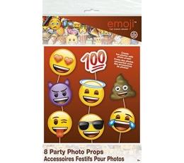 """Fotosessiooni aksessuaarid """"Emoji"""" (8 tk.)"""
