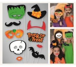 """Fotosessiooni aksessuaarid """"Halloween"""" (10 tk.)"""