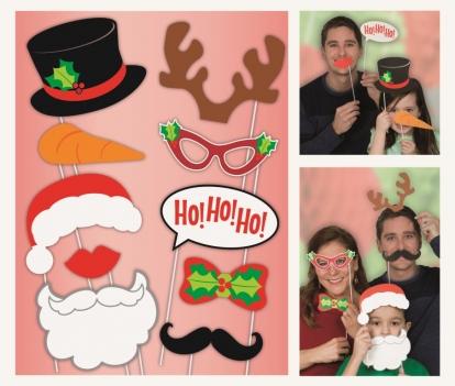 """Fotosessiooni aksessuaarid """"Jõulud"""" (10 tk.)"""