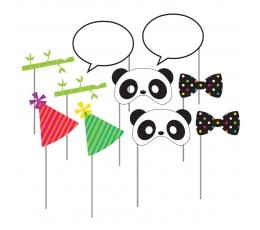 """Fotosessiooni aksessuaarid """"Panda""""  (10 tk.)"""
