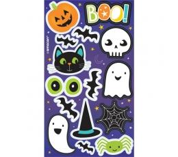 Halloweeni kleebised (4 lehte)