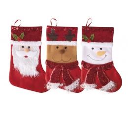 """Jõulusokk """"Häid jõule"""" (24x37 cm)"""