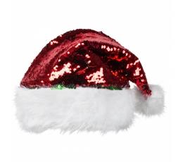 Jõuluvana müts litritega, punane / roheline