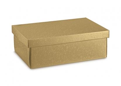 Kaanega karp, kuldne (37,5X26X12,5 cm)