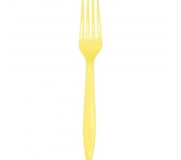Kahvel, helekollane (24 tk)