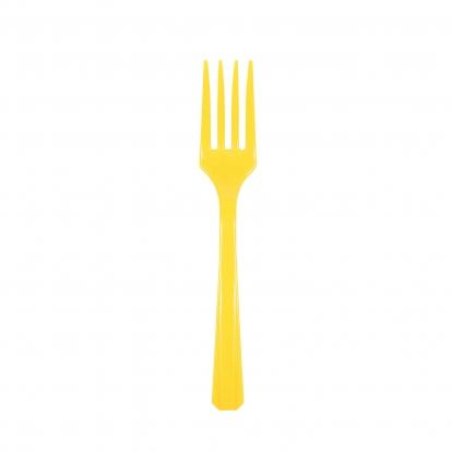 Kahvelid, kollane (20 tk)