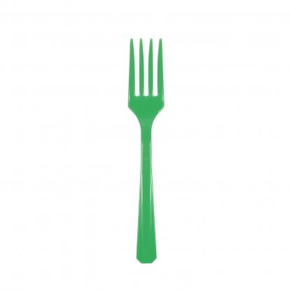 Kahvlid, rohelised (20 tk)