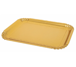 Kandikud suupistetele, kuldne (2 tk. 26x33cm)