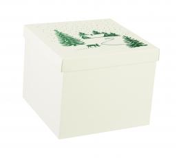 """Karp kaanega """"Lumi"""", suur (30X30X24 cm)"""