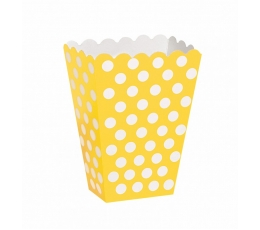 Karp snäkkidele, kollane, täppidega (8 tk.)