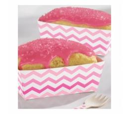 Karp snäkkidele, roosa siksakiga (24 tk.)