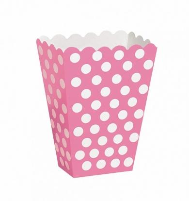 Karp snäkkidele, roosa-täppidega (8 tk.)