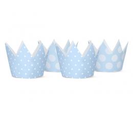 Kroonid, helesinised (4 tk.)