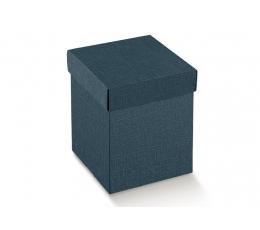 Kinkekarp - Juta Blu ristkülikukujuline / sinine (1 tk/345*345*110 mm.)