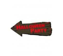 "Kaunistus-märk ""Halloween party"" (50 cm)"