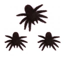 Kaunistused-ämblikud, kohevad (3 tk/8x10 cm)