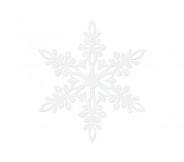 """Kaunistused """"Lumehelbed"""" (10 tk / 13 cm)"""