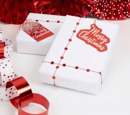 """Kingituste pakkimise komplekt """"Merry Christmas"""" 1"""