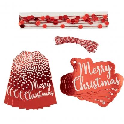 """Kingituste pakkimise komplekt """"Merry Christmas"""""""