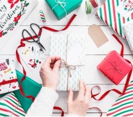 Kingituste pakkimispaber jõuludeks (2 tk./70x200 cm) 2