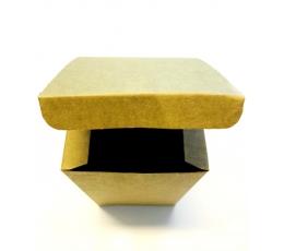 Kinkekarp, kraft ristkülik (10x10x16 cm)