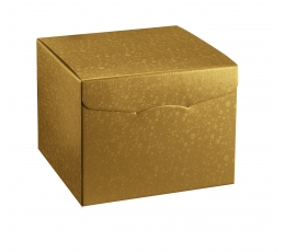 Kinkekarp, kuldne (20X20X18 cm)