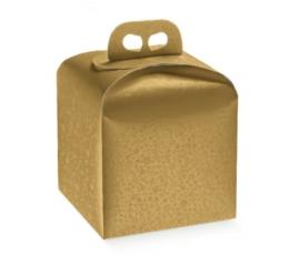 Kinkekarp kuldne (1 tk/200x200x180 mm)