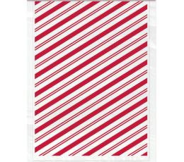 Kinkekotid, punase triibulised(20 tk)