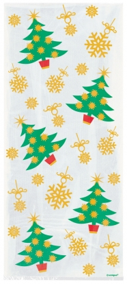 """Kinkekotid""""Jõulukuused"""" (20 tk)"""