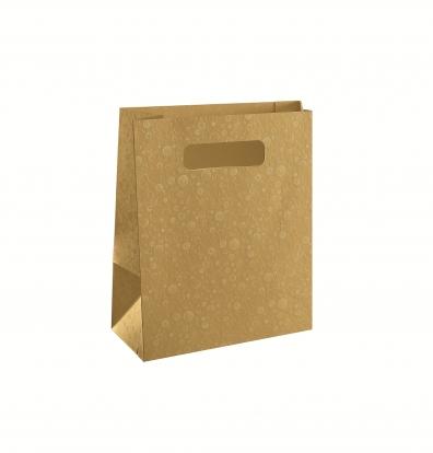 Kinkekott, kuldne (23X10X30 cm)