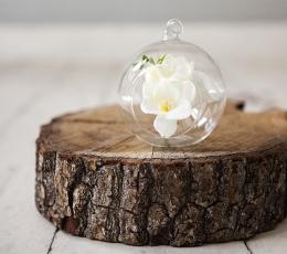 Klaasist kaunistus-mull (10 cm) 0