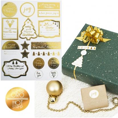 """Kleepsud """"Kuldsed jõulud"""" (34 tk.)"""