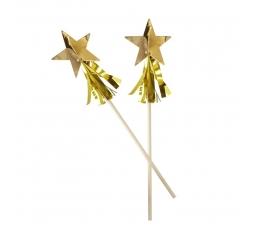 """Kokteilipulgad """"Kuldsed tähed"""" (15 tk.)"""