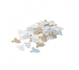 """Konfetid """"Beebipoiss"""", sinine-kuldne (100 tk./3 cm)"""