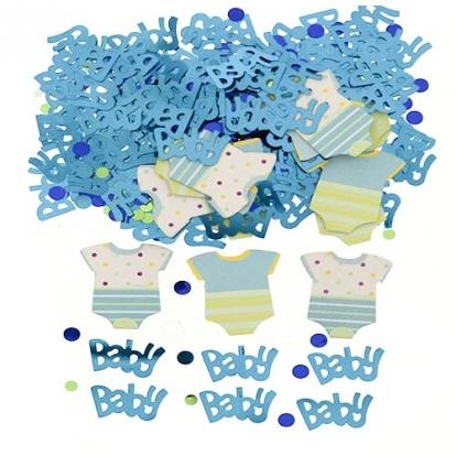 "Konfetid ""Baby Shower"", helesinine (14 g.)"