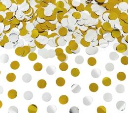Konfetikahur, kuldne-hõbedane (40 cm) 0