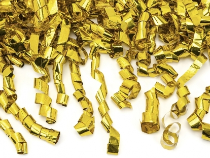 """Konfetikahur """"Kuldsed keerud"""" (60 cm)"""