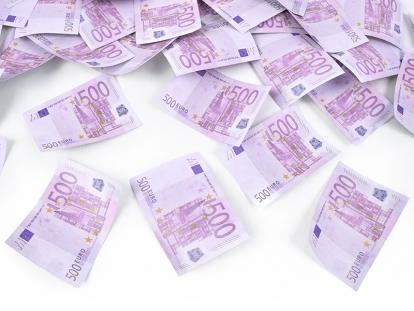 """Konfetikahur """"Euro"""" (60 cm)"""