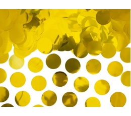 Konfetid, kuldsed fooliumist (15 g.)