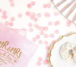 Konfetid, roosad paberist (15 g.)  1