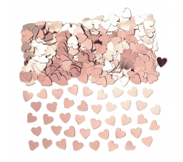 """Konfetid """"Roosakas kuldsed südamed"""" (14 g)"""