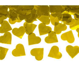 """Konfetikahur """"Kuldsed südamed"""" (60 cm)"""
