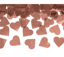 """Konfetikahur """"Roosakas kuldsed südamed"""" (60 cm)"""