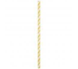 Kõrred, kollase triibulised - painduvad (24tk)