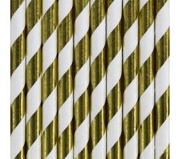 Kõrred, kuldsed-laia triibulised (10 tk.)