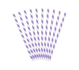 Kõrred, lillad laia triibulised (10 tk)