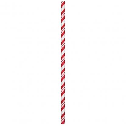 Kõrred, punased - triibulised (24 tk)