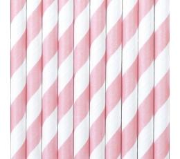Kõrred, roosa laia triibuga (10 tk.)
