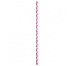 Kõrred, roosa triibulised (24 vnt.)