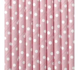 Kõrred, roosad - täpilised (10 tk)